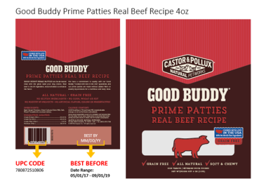 Castor Pollux Real beef